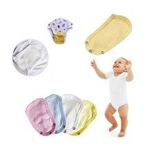 Детский удлинитель подгузника, хлопковый костюм, аксессуар, Милый Летний комбинезон для подгузников, удлиненная пленка для малышей, для маленьких мальчиков и девочек