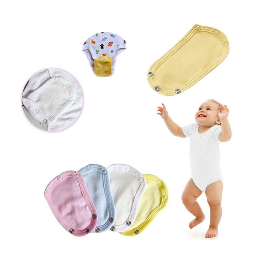 Baby Diaper Extender Cotton Body Suit Accessory Lovely Summer Diaper Romper Lengthen Extend Film for Toddler Kids Baby Boy Girl