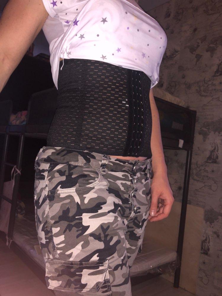 Hot Body Shaper Waist Trainer Belt Steel Boned Corset Women Postpartum Belly Slimming Underwear Modeling Strap Shapewear