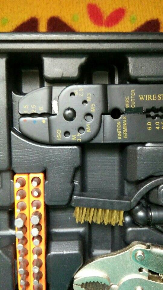 Hand tool set Bort BTK-123