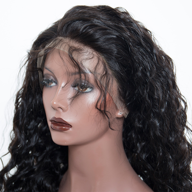 Loose Wave 13×6 Lace Front Wigs Brazilian Remy Hair 250% Density With Baby Hair