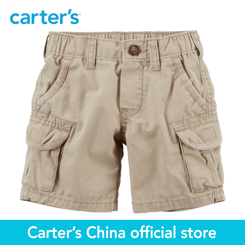Carter's 1pcs baby children kids Canvas Cargo Shorts 224G096,sold by Carter's China official store