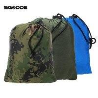 SGODDE Portable Folded 200kg Maximum Load Travel Jungle Camping Outdoor Hammock Hanging Nylon Bed Mosquito Net