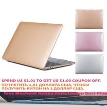 Metal pattern Laptop Case For macbook Macbook Air 13 New 2018 Retina Pro 13 15 with TMacbook Retina Ports Laptop Dust Plug stoneguard 511 sg5410301 кожаный чехол для macbook pro 13 retina rust ash