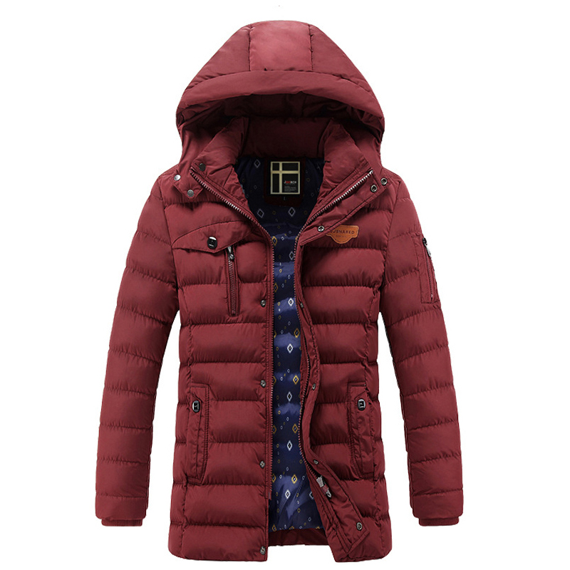 Winter Jacket Men Casual Cotton Thick Warm Coat Men's Outwear Parka Plus size 3XL Coats Windbreak Snow Military Jackets parca 8