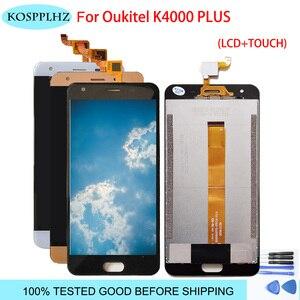 Image 1 - Wyświetlacz LCD ekran dotykowy do telefonu komórkowego oukitel k4000 plus montaż z częściami Digitizer LCD Touch + narzędzia wymiana k 4000