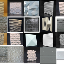 Plastic Molds Panels Wall-Stone Form 3D Tile Art-Decor Low-Price Until-End-Of-Year 1piece