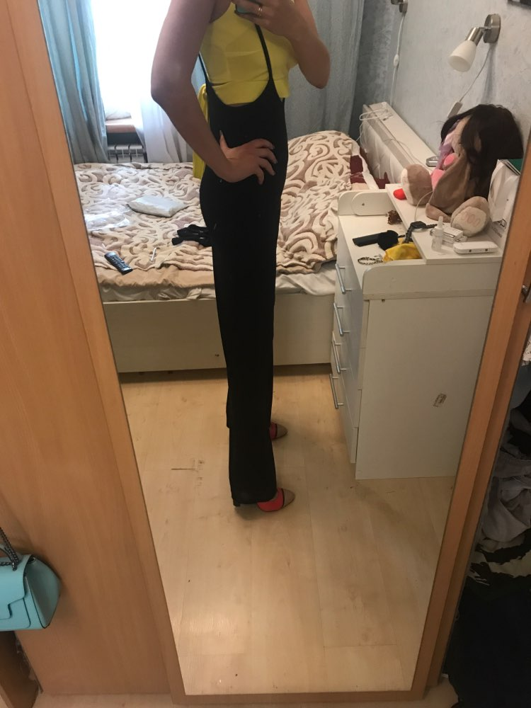 2018 New Fashion Casual Loose High Waist Black Solid Casual Lace Up Spaghetti Strap Overalls Sexy Long Elegant Pants Vestidos