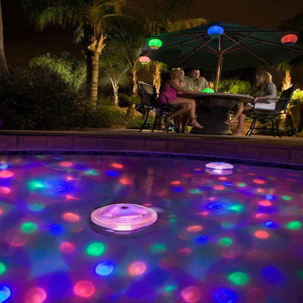 இ2017 nueva llegada batería LED luz subacuática impermeable ...
