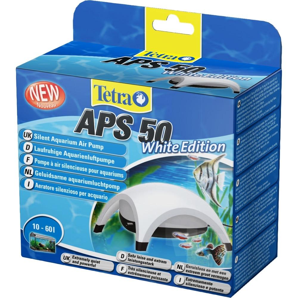 Compressor for aquariums Tetra APS-50 White Edition for aquariums up to 60 liters natural reef aquariums