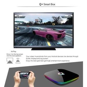 Image 4 - Smart TV BOX QPLUS 6K Ultra HD 4+32G Android 9.0 WIFI Google Cast Netflix Media Player IPTV Set top Box qplus