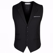 Vest man dress Vests slim fits Tuxedo Waistcoat Suit Male Formal Business suit gilet colete homme 6xl 5xl