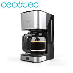 Cecotec Coffee 66 Heat Drip Coffee Maker 950W Stainless Steel 1.5L Capacity 12 Cups of Coffee with Reheat and Keep Warm Function