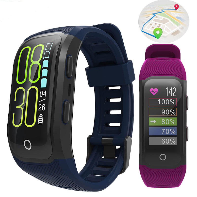 New Smart Watch IP68 Waterproof Sports Watches Men Heart Rate Monitor Fitness Tracker Wristband Color Screen GPS For ios Android стоимость