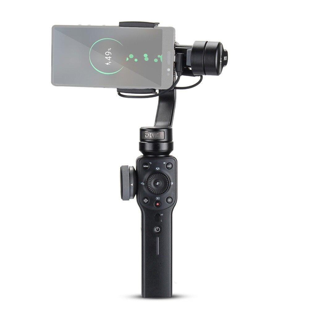 ZHIYUN Liscia 4 3-Axis Handheld Gimbal Stabilizzatore per Smartphone iPhone X 8 Più di 7 6 SE Samsung Galaxy s9, 8,7, 6