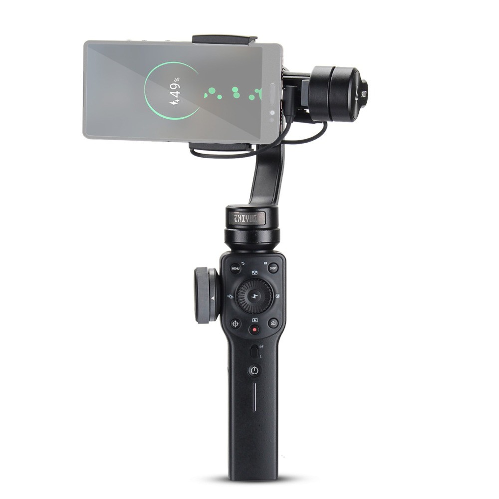 ZHIYUN Smooth 4 3-Axis Handheld Gimbal Stabilizer for Smartphone iPhone X 8 Plus 7 6 SE Samsung Galaxy S9,8,7,6 zhiyun smooth q 3 axis handheld gimbal stabilizer for smartphone