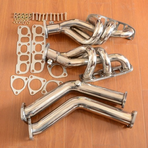STAINLESS HEADER MANIFOLD+DOWNPIPE EXHAUST for nissan 03 06 350Z Z33/G35 V35 VQ35DE