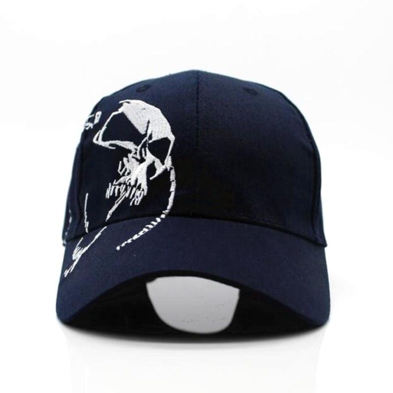 Seioum High Quality Unisex 100% Cotton Outdoor Baseball Cap Skull Embroidery Snapback Fashion Sports Hats For Men & Women Cap