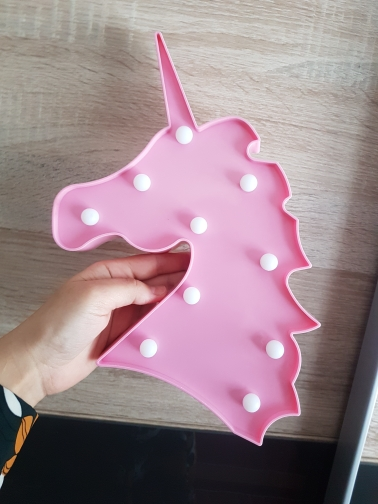 Night Light Unicorn Lamp photo review