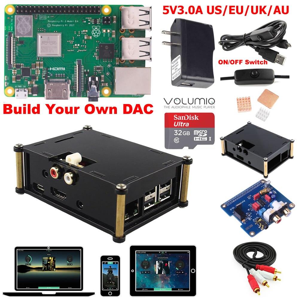 Raspberry Pi 3 Model B B Plus DAC Kit D3B01