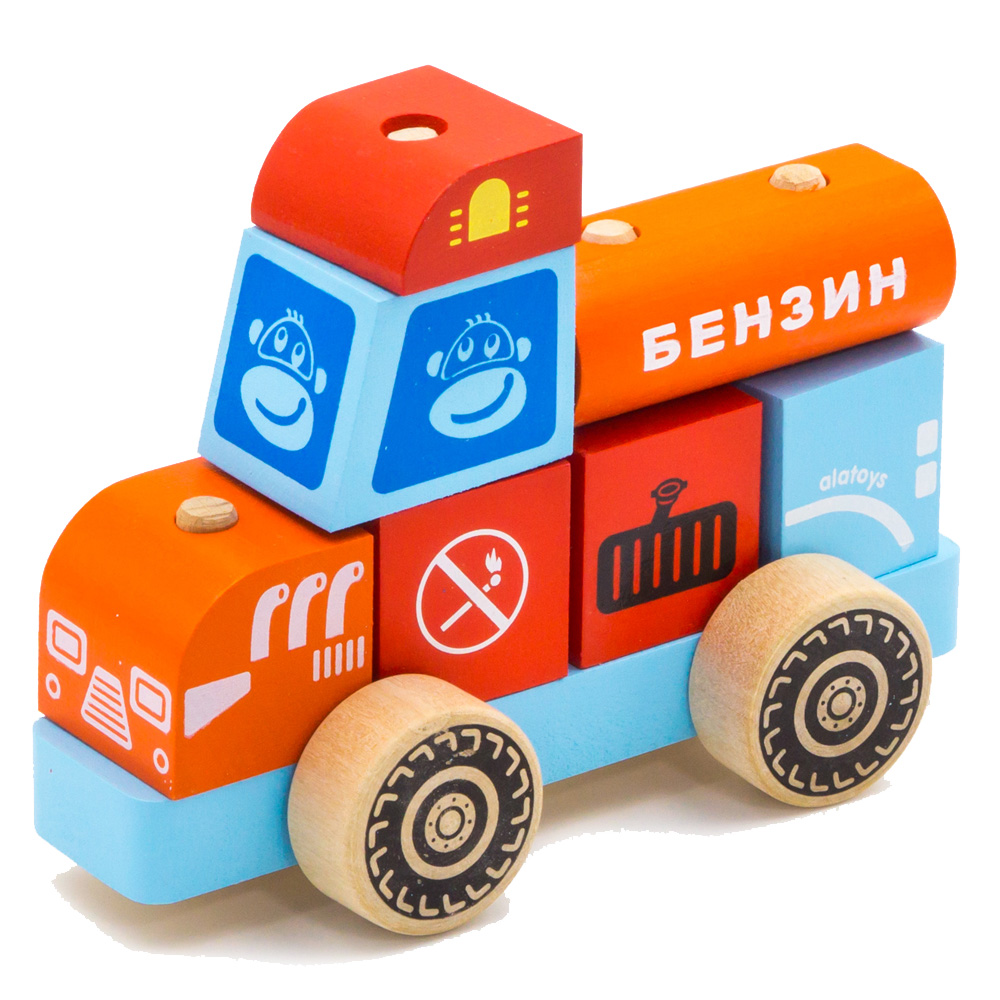 Blocks Alatoys KKM02 play designer cube building block set cube toys for boys girls barrow kazi 80511 fire station building blocks city firefighter educational construction bricks hobbies toys for children