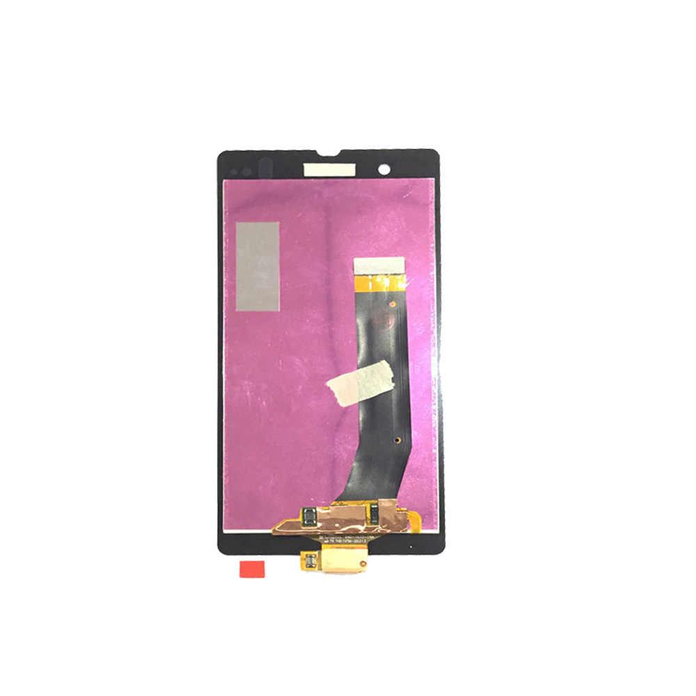 100% Được Kiểm Tra MÀN HÌNH Hiển Thị LCD Bộ Số Hóa Cảm Ứng Thay Thế Cho Sony Xperia Z L36H L36i C6606 C6603 C6602 C660X C6601