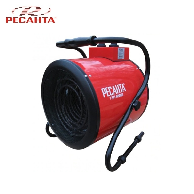 Electric heat gun TEP-9000K Hotplate Facility heater Area heater Space heater electric heat gun resanta tep 2000n compact