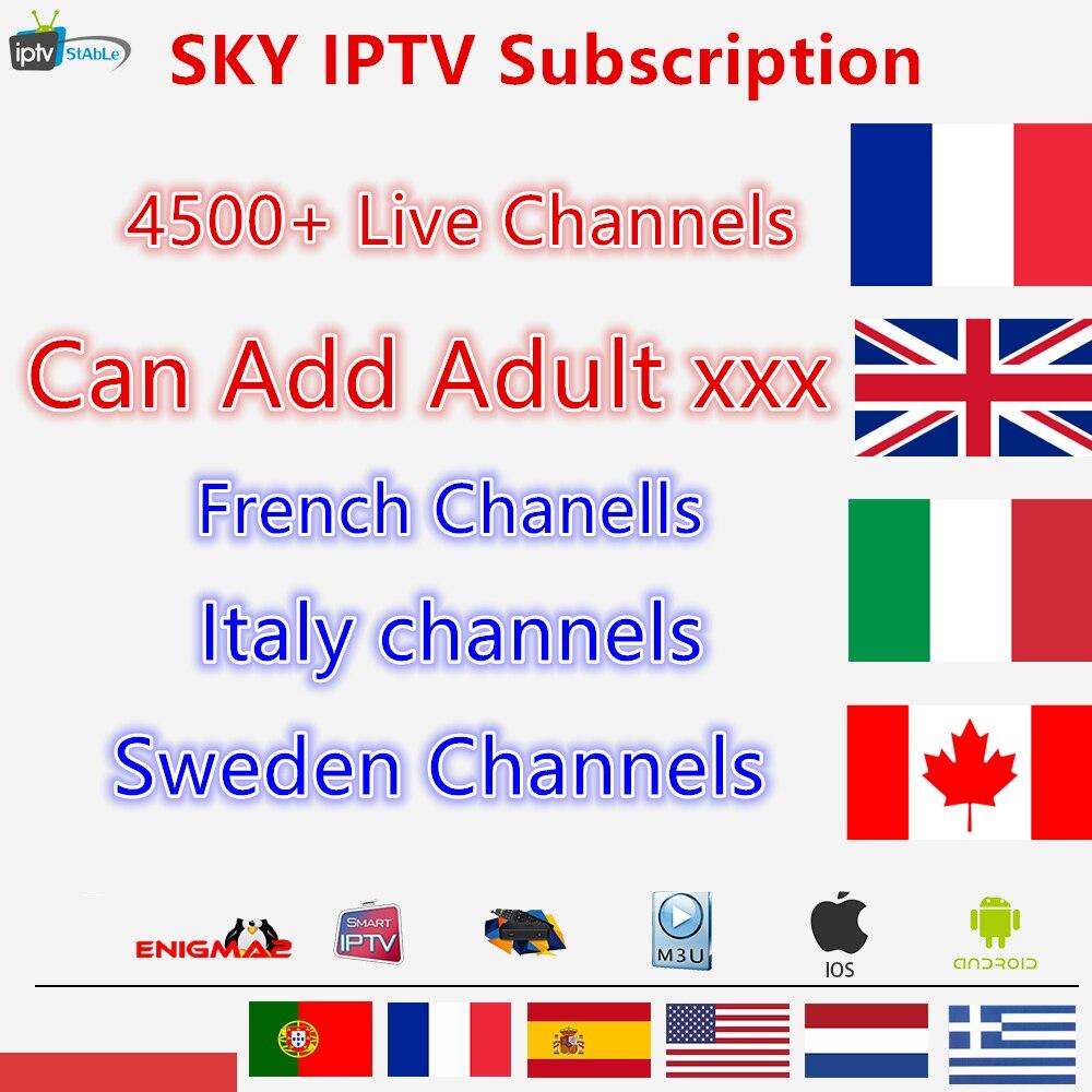 IPTV Abonnement Frankreich IPTV Italien italia Niederlande Arabisch Spanien Schweden Portugal Nordic Kanada USA android Smart IPTV M3U