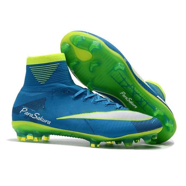 26f2d2834e5b Soccer Shoes Football Outdoor Mens Soccer Shoe Boots Boys Kids Women Boots  Superfly Original 2018 FG Soccer Cleats Spikes