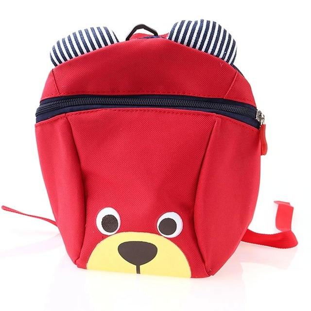 NEW Cute Little Bear Children s Backpack Lovely Cartoon Animal School Bags  For Boys Girls Kindergarten Bag Baby Bags 4 Colors d493ee1c4185d