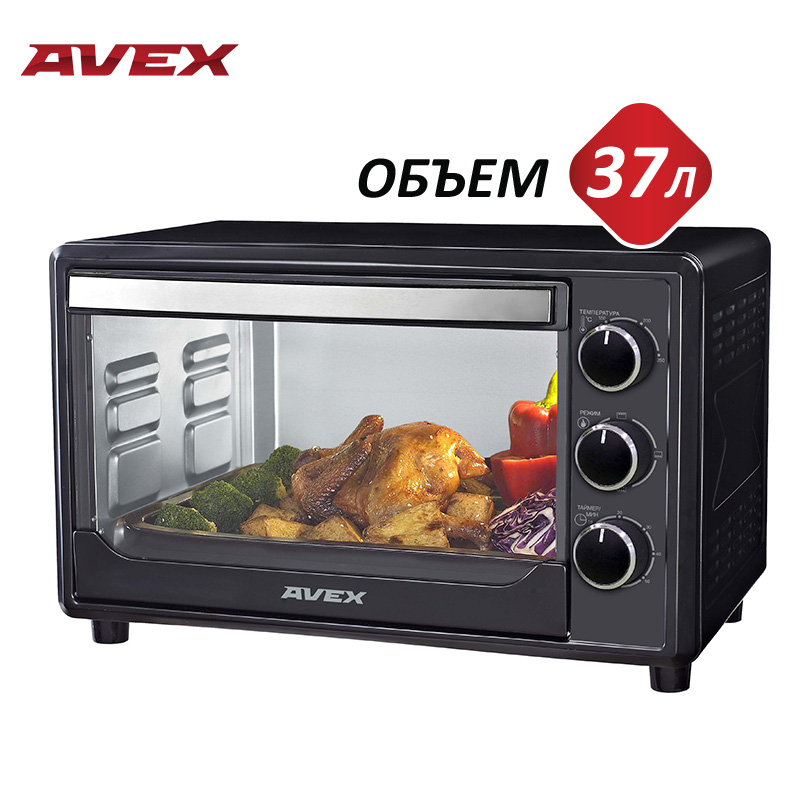 Фото - Mini Electric oven with convection AVEX TR 390 B joyo jf 330 liner aby line selector mini electric guitar effect pedal tomsline
