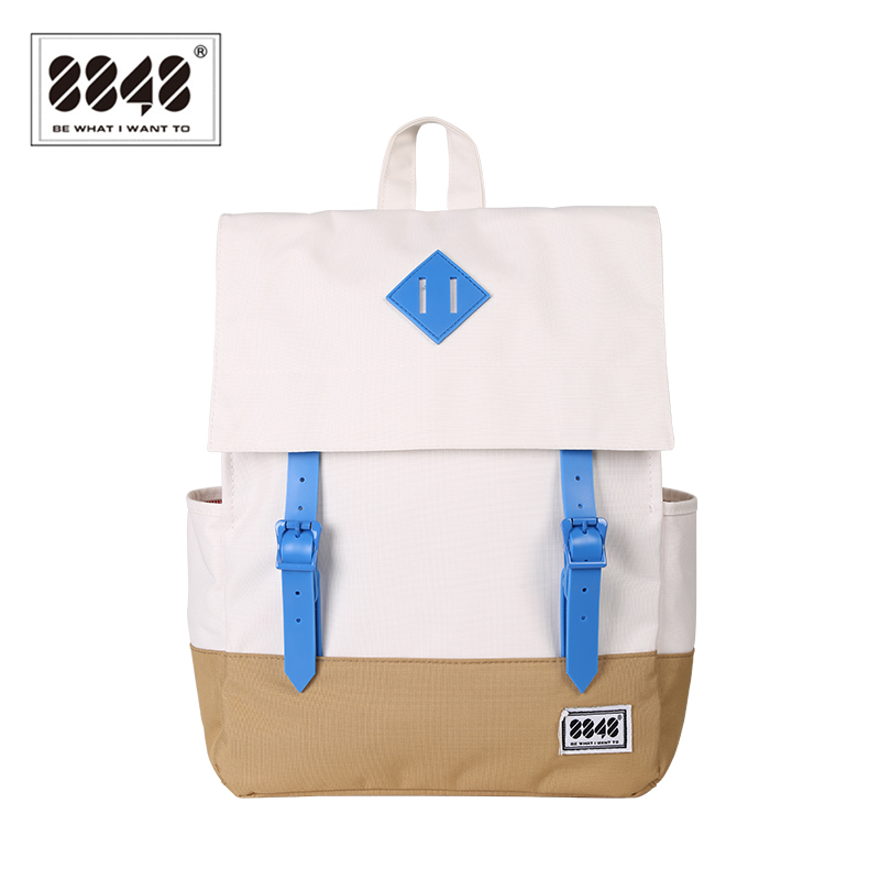 Image 3 - 8848 Casual Women's Backpack School Bag Female Backpack 15.6 Inch Laptop 14.2 L Waterproof Oxford Backpack Mochila 173 002 008-in Backpacks from Luggage & Bags