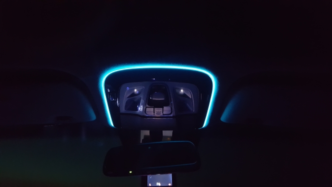 JURUS 2pcs 1m/2m/3meter Flexible Neon Light Car 12V Glow El Wire Salon Flat Led Strip Tube Auto Interior Lights With Inverter