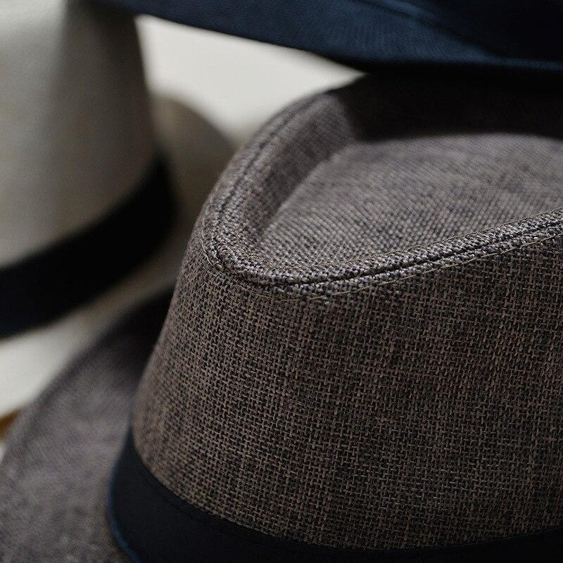 UTB8lWJpxdoSdeJk43Owq6ya4XXaZ - 2018 England Retro Men's Fedoras Top Jazz Plaid Hat Spring Summer Autumn Bowler Hats Cap Classic Version chapeau Hats