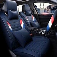 Кожаный чехол универсальный сиденье Чехлы для мангала для GMC Sierra Nissan Sentra Jeep Grand Cherokee Hyundai Elantra