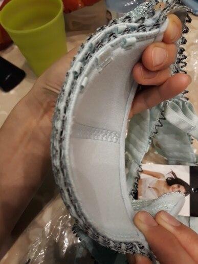 Varsbaby Half cup ultra - thin lace sexy bras ladies bra sets women underwear
