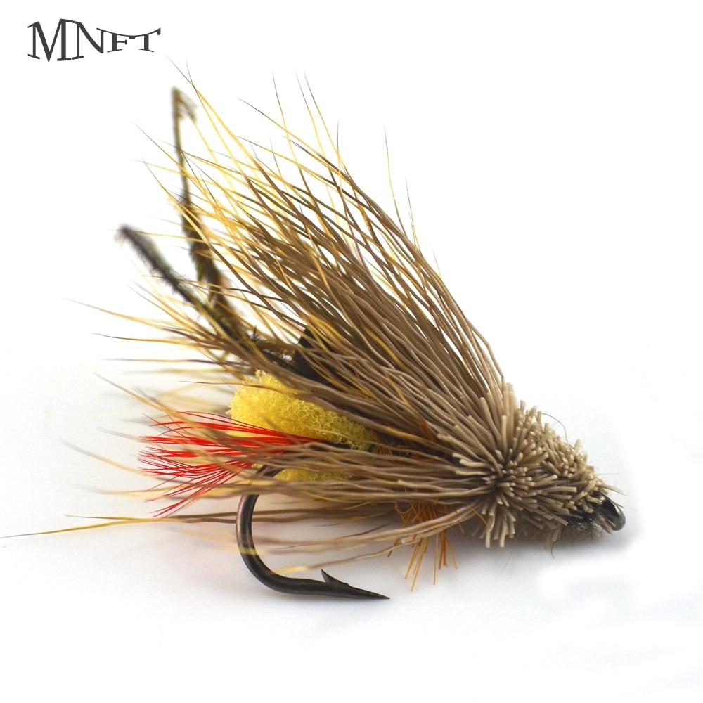 Yellow Muddler Minnow size 6 6 pcs