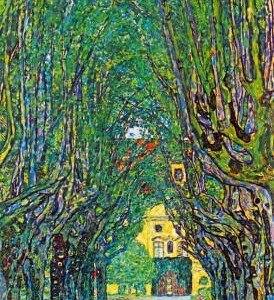 13x19-Gustav-Klimt-Way-to-the-Park-Art-Print-Poster-0-274x300