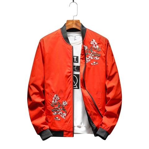 New Spring Autumn New  Jacket Men Fashion Casual Loose Mens Jacket Sportswear Bomber Jacket Mens jackets men and Coats Islamabad