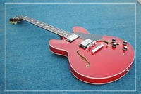 Red Custom 335 Classic Jazz Guitar Best High Quality Wholesale Guitars HOT Free Shipping