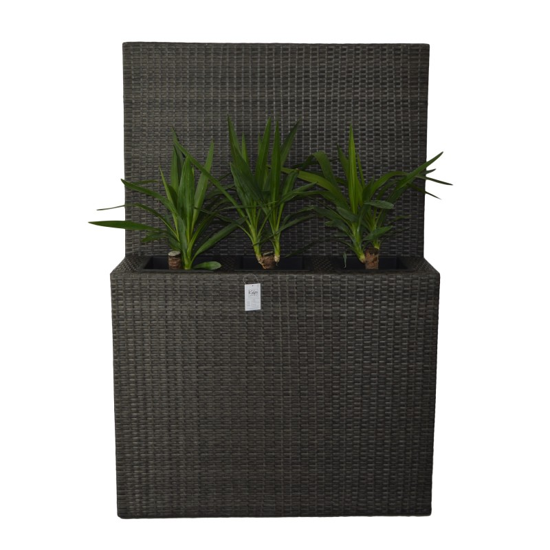 ROCHA Flowerpot. Ideal As A Room Separator For Its Height Of 150cm And 3 Containers.