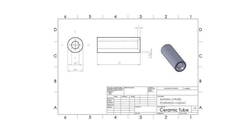 99% alumina tube / furnace tube / OD*L=30*1200mm / ceramic tube / vacuum furnace tube цена