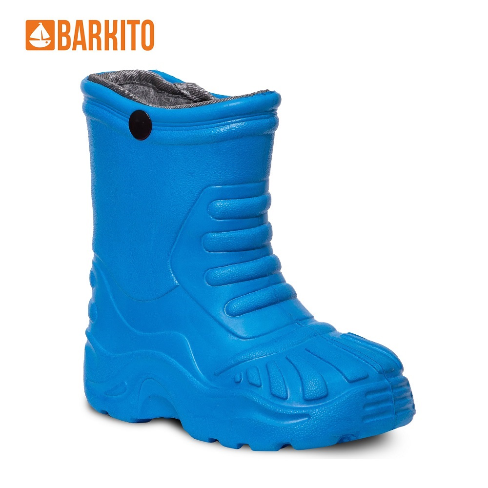 Boots Barkito 340160 children shoes Blue Spring/Autumn 23 Rubber Boys reima boots 7634609 for boys and girls spring autumn boy girl children shoes