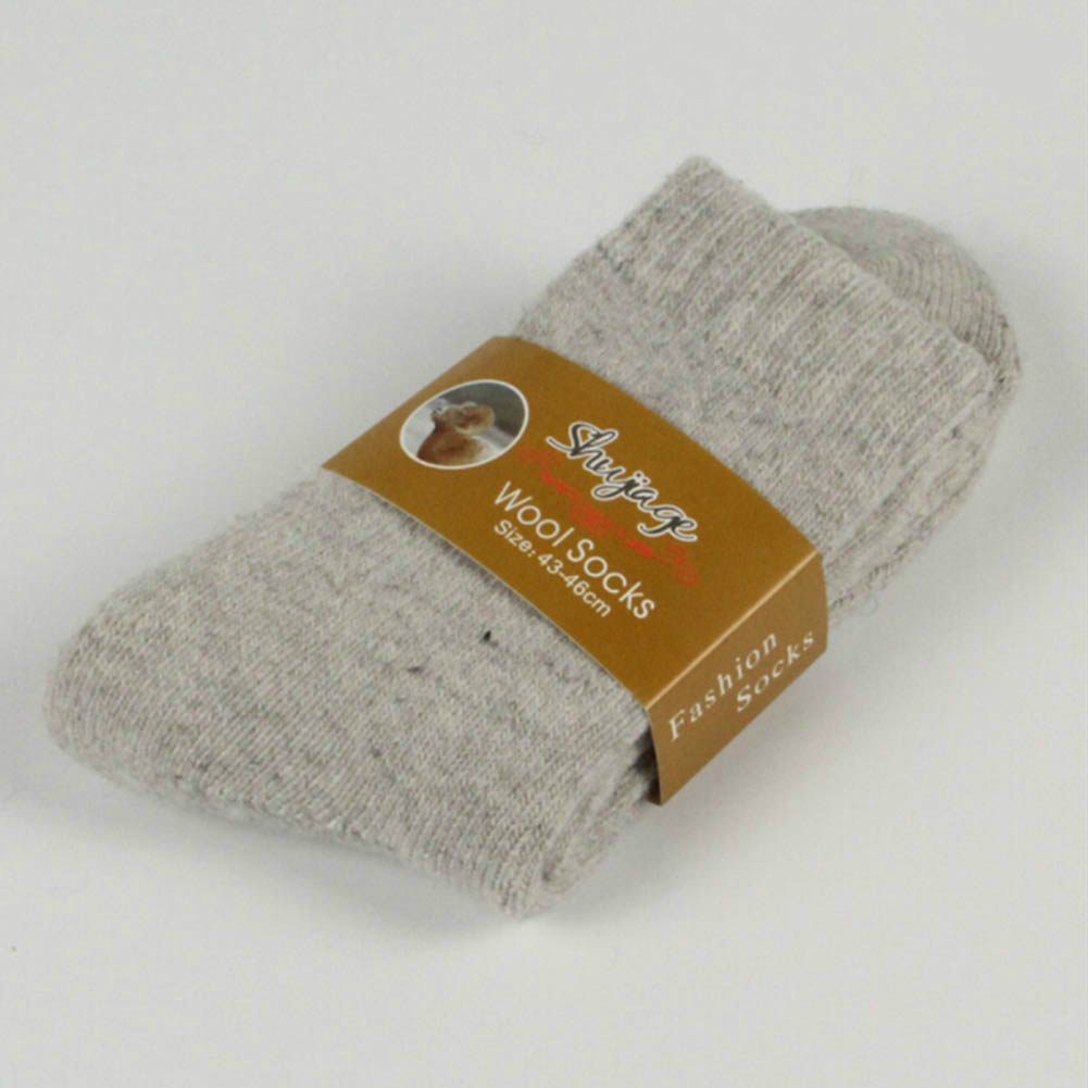 1 Pair Men Socks Winter Thick Wool Warm Winter Professional Soft Skiing Outdoor Sports Socks