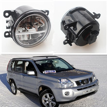 For NISSAN X-Trail T31 Closed Off-Road Vehicle 2007-2014 Car Styling Front Bumper LED Fog Lights High Brightness Fog Lamps 1 Set