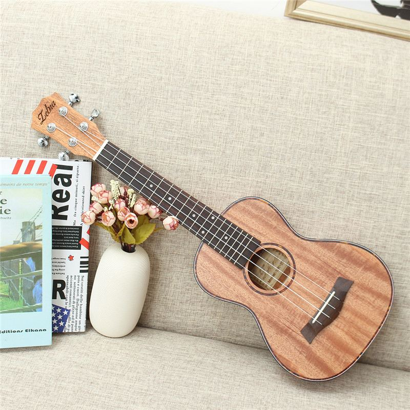 Zebra 23 26 4 Strings Mahogany Concert Guitar Guitarra Rosewood Fretboard Bridge Ukulele Uke For Musical Stringed Instruments tenor concert acoustic electric ukulele 23 26 inch travel guitar 4 strings guitarra wood mahogany plug in music instrument