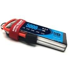 DXF-batería Lipo de recarga para AKKU, coche, barco, avión, Quadcopter, Slash 4x4 Remo Hobby, 2S, 7,4 V, 5000mAh, 30C, 60C, 2S