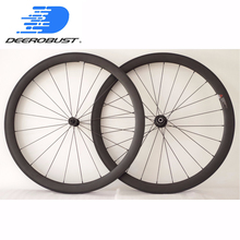 1329g Tubeless Ready Lightest 700c 45mm U Shape Clincher Road Bike Wheel Bicycle Carbon Wheels Extralite/Dati Hubs 20 24 Holes