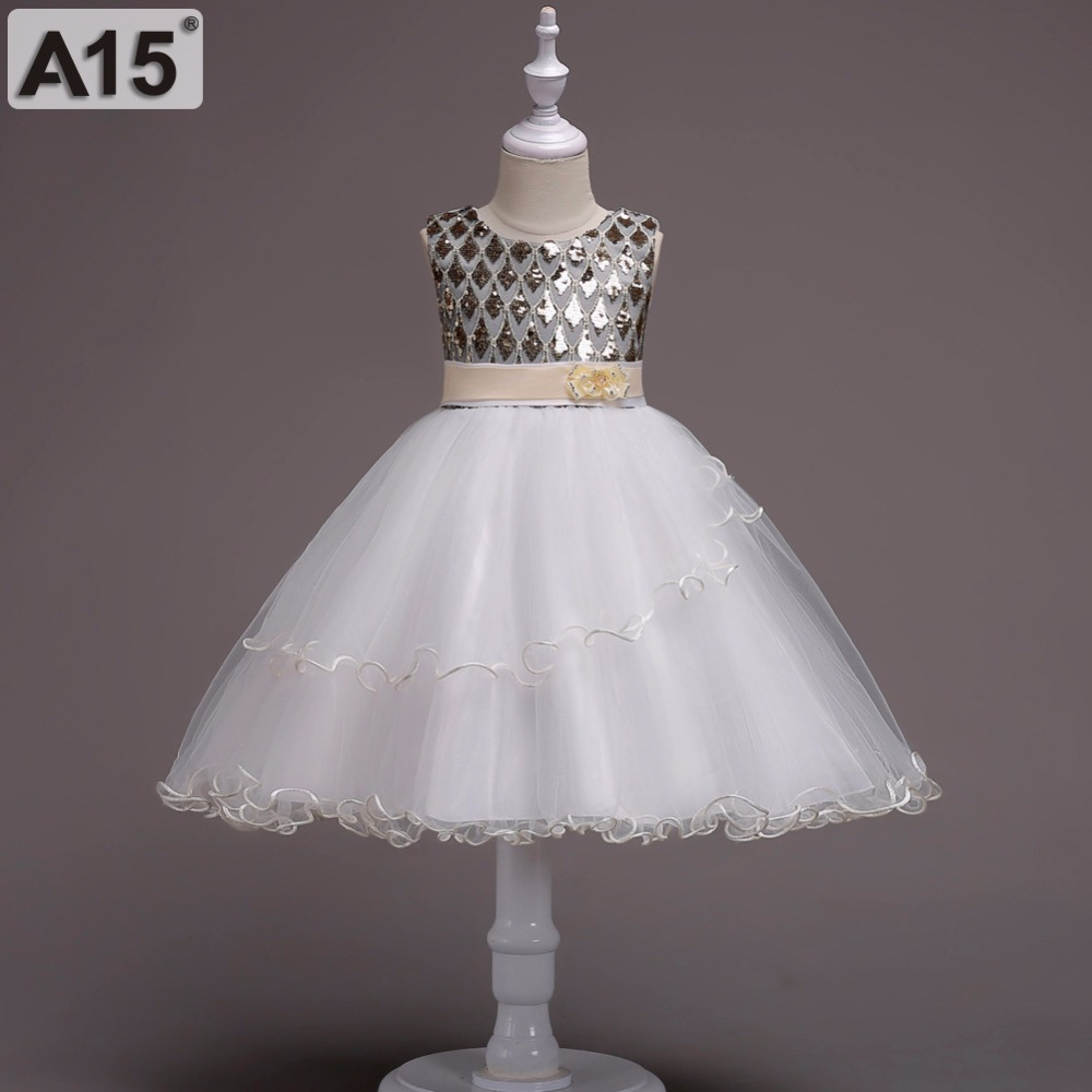 A15 Baby Girl Clothes Princess Dress Girls Wedding Lace Bow Ball Gown Tutu Party Dress Toddler Kids Fancy Dress 5 6 8 10 12 Year children girl clothes 2018 princess dress clothes bow ball gown tutu party dress 4 6 8 10 12 14 years teenage kids fancy dress
