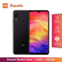 [Глобальная версия для Испании] Xiaomi Redmi Note 7 (Memoria interna de 128 GB, ram de 4 GB, Camara dual trasera de 48 MP) Movil